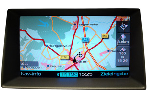 Audi Q7 - Reparatur Multimedia-Interface/MMI - Navimonitor