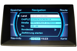 Audi Q5 - Multimedia-Interface - Navimonitor Defekt