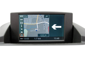 BMW X3 Navigationsgerät Pixelfehler Reparatur, Navi - Display / Monitor defekt
