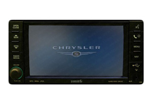 Chrysler Navigationsgerät Pixelfehler Reparatur, Navi - Display / Monitor defekt