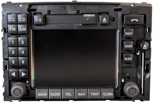Idea - Reparatur Navi Display Ausfall