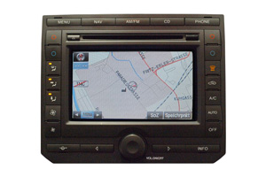 Ford Transit Navigationsgerät Pixelfehler Reparatur, Navi - Display / Monitor defekt