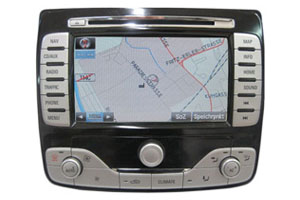 Ford Galaxy Navigationsgerät Pixelfehler Reparatur, Navi - Display / Monitor defekt
