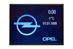 Zafira - Repariertes CID-Display