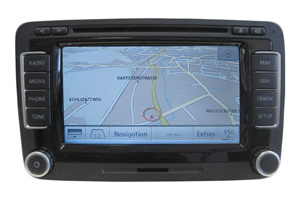 VW Golf Navigationsgerät Pixelfehler Reparatur, Navi - Display / Monitor defekt